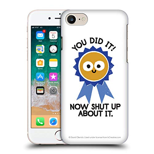 - Official David Olenick Boast Likely to Suceed Medal Objects Hard Back Case iPhone 7 / iPhone 8