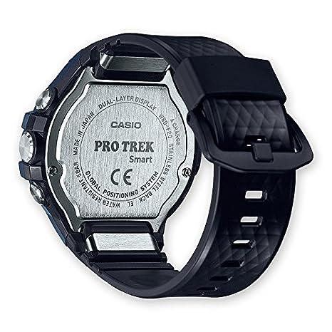 Casio wsd-f20 a-buaae LCD GPS (Satellite) Noir, Bleu Montre Intelligente - Montre Smartwatch avec écran LCD, écran Tactile, WiFi, GPS (Lune), 90 g, Noir, ...