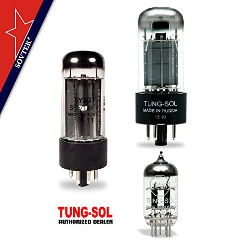 Tung-Sol Sovtek Tube Upgrade Kit For Fender Champ OS Amps 6V6GT 12AX7 5Y3GT
