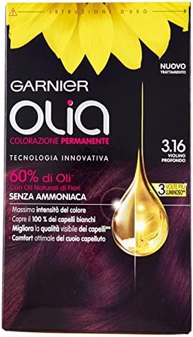 Garnier Olia Coloración permanente 3.16 Violín profundo ...
