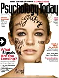 Psychology Today October 2009 What Signals Are You Sending?, The Sex Scorecard, Why Depression Is Contagious, Diet Daze - How Menus Trick Us, Steve Jobs - Magician?