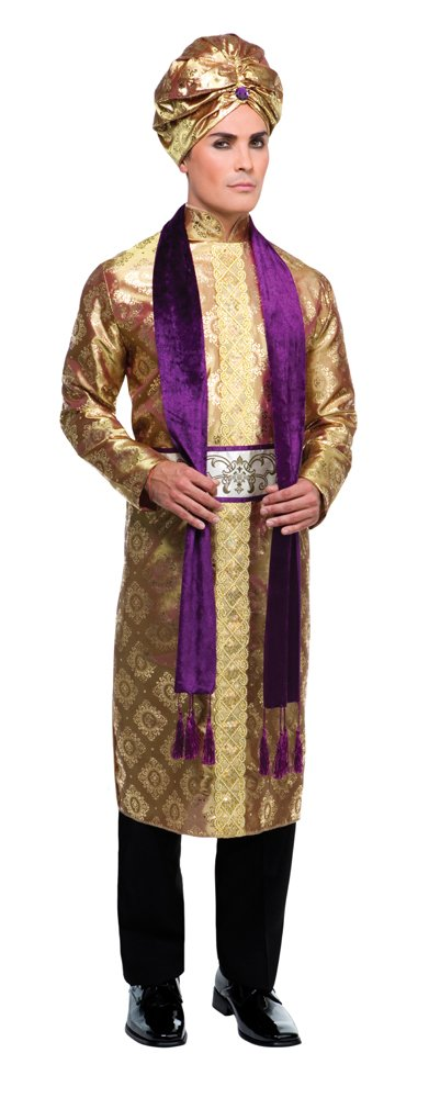 Bristol Novelty AC232 Bollywood Costume, Multicolor, 42-44-Inch, (Manufacturersize 54)