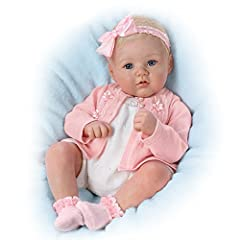 What a joy it is to hold little Annika in your arms. She's so perfect, so lovable and so completely realistic! Introducing the Perfect In Pink Annika Baby Doll, a So Truly Real® lifelike baby doll by Master Doll Artist Marissa May, available ...