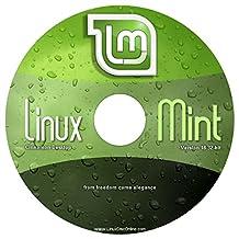 "Linux Mint 18.2 (32-bit) Cinnamon Edition ""NEW"" - Live/Install on DVD"