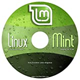 Linux Mint 18.1 - NEW RELEASE - Cinnamon Live Desktop (32-Bit) on DVD.