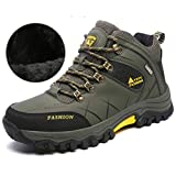 Best Trail Hiking Shoes - Wodun Mens Leather Hiking Boots Waterproof Trekking Boots Review