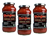 Uncle Steve's Italian Marinara Sauce - Organic Gluten Free - Non Gmo - Kosher -3- 25 Ounce Bottle by Uncle Steve