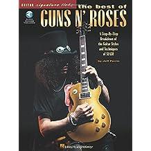 The Best of Guns N' Roses (Guitar Signature Licks) Bk/online audio