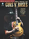 The Best of Guns N' Roses (Guitar Signature Licks) Bk/online audio