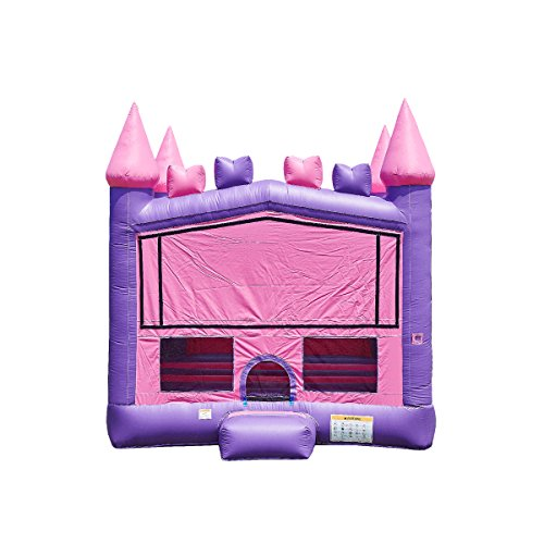 - JumpOrange Commercial Grade Inflatable Princess Bricks Bounce House Backyard Party Moonwalk Size 13'x13'