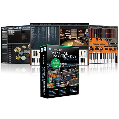 Virtual Instrument Collection with Arturia, Cakewalk, D16 Group, Ohm Force,  Steven Slate, Sugar Bytes, and UVI