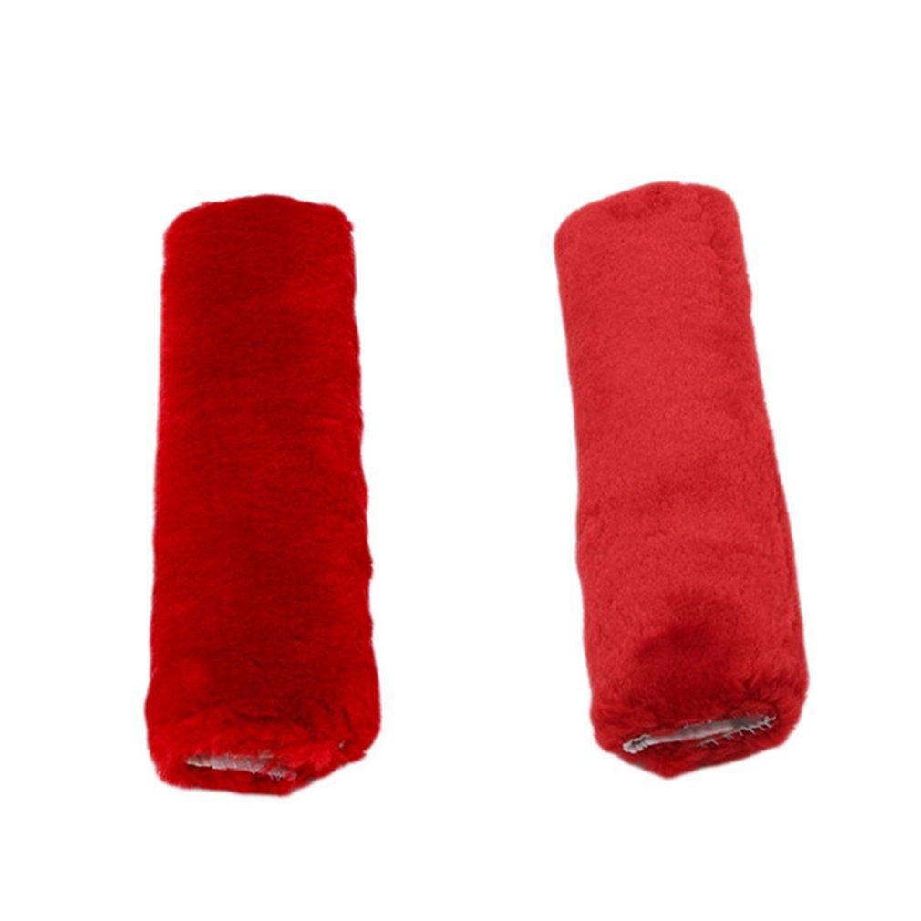 HENGSONG 2PCS Seat Belt Cover Soft Dacron Material Car Seat belt Comfort Pads (Pink) Mei_mei9 UK8969111E