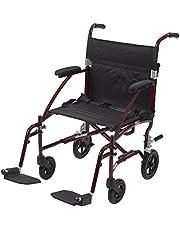 Drive Medical Fly Lite Ultra Lightweight Aluminum Transport Chair
