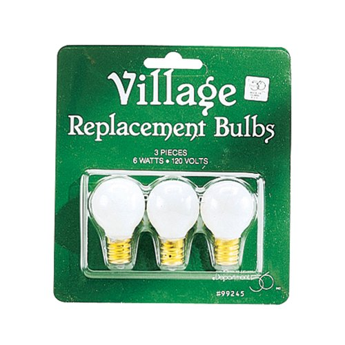 Department 56 Accessories for Department 56 Village Collections Replacement Round Lite Bulb Lights