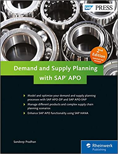 Demand Supply Planning APO DP APO SNP