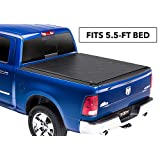 "TruXedo Lo Pro Soft Roll-up Truck Bed Tonneau Cover | 545901 | fits 09-18 Ram 1500 5'7"" Bed"
