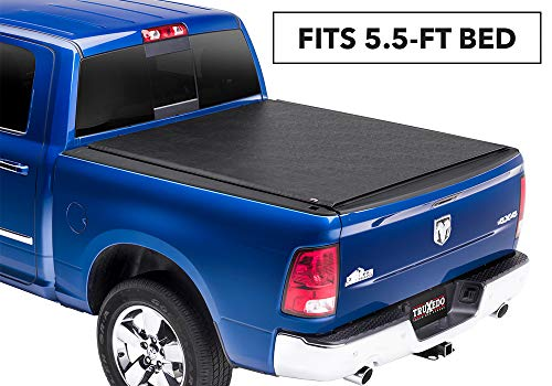 TruXedo Lo Pro Soft Roll-up Truck Bed Tonneau Cover | 545901 | fits 09-18 Ram 1500 5'7