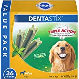 Pedigree DENTASTIX Large Dental Dog Treats Fresh, 1.94 lb. Value Pack (36 Treats)