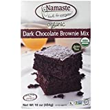 Namaste Gluten Free Organic Dark Chocolate Brownie Mix, 454g