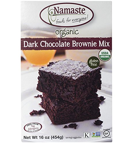 (Namaste Foods Gluten Free Organic Dark Chocolate Brownie Mix, 16 oz)