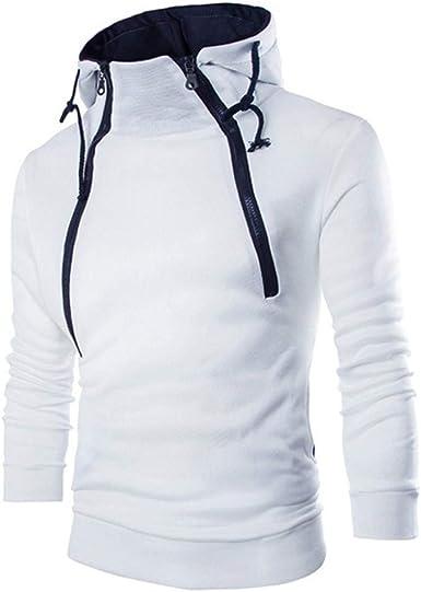 DAY8 Sweat Homme Capuche Zippe Pas Cher a la Mode Vêtement