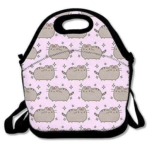 Food Storage Bag Zipper Bags Cute Cats Pattern Lunch Bag Tote Backpack For Adult Or Children
