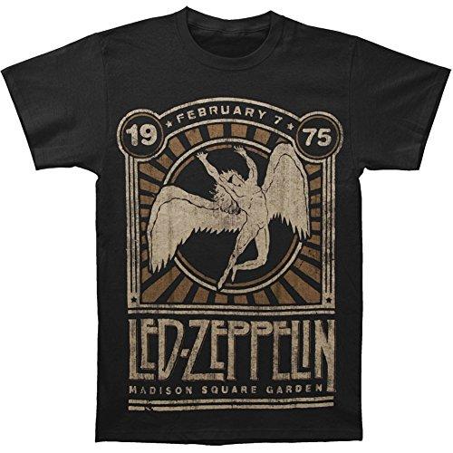 Led Zeppelin '75 Madison Square Garden Adult T-shirt