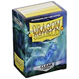 Arcane Tinman AT-11001 Dragon Shield Sleeves Matte Card Game, Clear