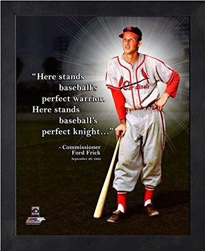 (Stan Musial St. Louis Cardinals ProQuotes Photo (Size: 12