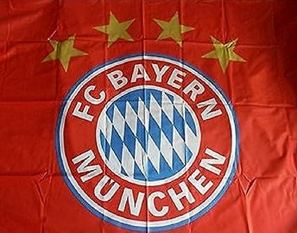 FC BAYERN MÜNCHEN FAHNE HISSFAHNE 150x100CM