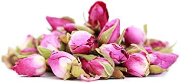 Premium Loose Pink Rose Bud Tea (50 Grams)