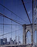 24 x 36 Giclee Print of Aerial View of New York City with a Focus on The Brooklyn Bridge Through which The Twin Towers of The World Trade Center are Visible r43 2001 by Highsmith, Carol M,