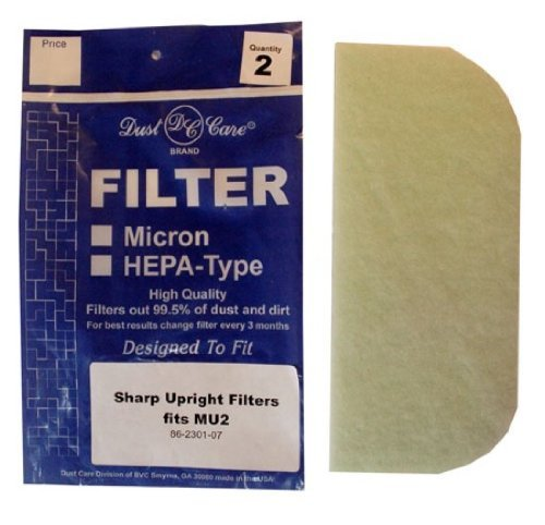 Filters-NOW VFBU86230107 Sharp MU2 Vacuum Filters from Filters Now