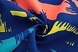 ALiberSoul Men's Coconut Tree Print Boardshorts