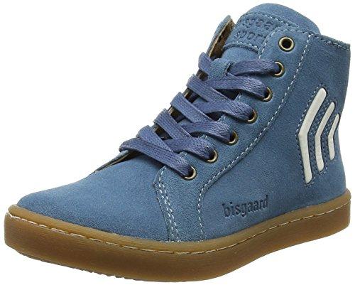 Bisgaard Schnürschuhe, Zapatillas Altas Unisex Niños Blau (Blue)