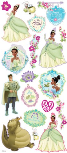 Disney Layered Stickers-The Princess & The (Disney Layered Accents)