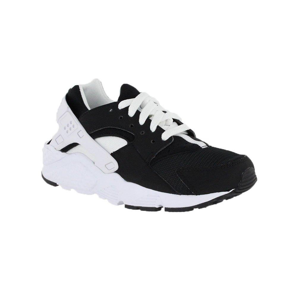 Nike Huarache Run/Boys Shoes Black//White size 7 M US Big Kid