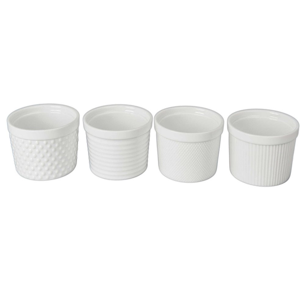 BIA Cordon Bleu Ramekin Set of 4 - 12 oz - Textured by BIA Cordon Bleu