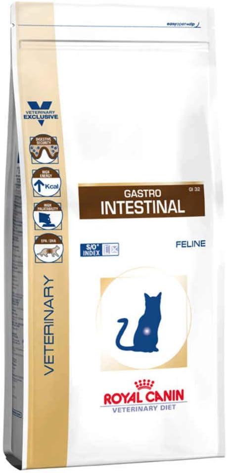 ROYAL CANIN Alimento para Gatos Gastro Intestinal GI32-4 kg ...
