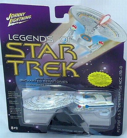 Legends of Star Trek Future Enterprise NCC-1701-D Series 3 by Uncharted Territories (Star Trek Future Enterprise)