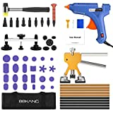 BBKANG Paintless Dent Repair Removal Remover Tools Kit- 60Pcs Car Dent Puller Kit Easy to Use for Small Dent Door Ding Hail Damage Repair