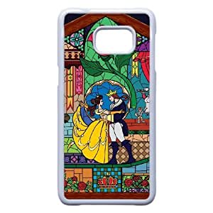 Personalized Durable Cases Samsung Galaxy S6 Edge Plus Cell Phone Case White Tqkeo Beauty and the Beast Protection Cover