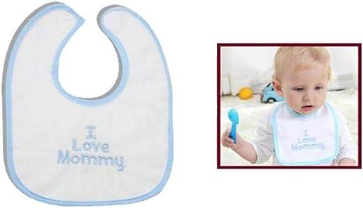 Cisne 2013, S.L. Babero Unisex Impermeable de algodón para bebé ...
