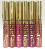 6 PCS SET CREAM COLORS LIP GLOSS MADE IN U.S.A.