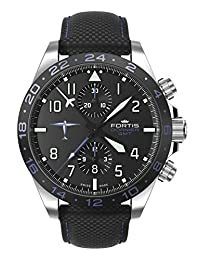 Fortis Aviatis Dornier GMT Automatic Chronograph Mens Watch 402.35.41 LP