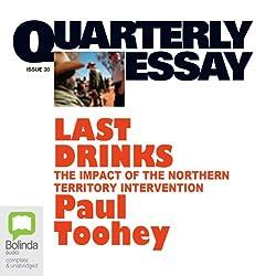 Quarterly Essay 30