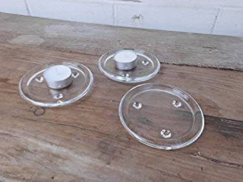 Kristallglas kerzenständer u quadratische grundform u cm
