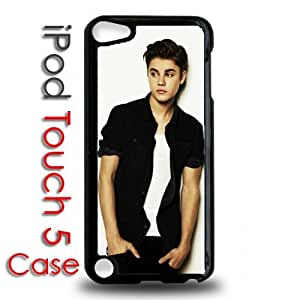 IPod 5 Touch Black Plastic Case - Justin Bieber Believe Never Say Never