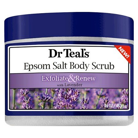Price comparison product image Dr Teals Exfoliate & Renew Lavender Epsom Salt Body Scrub 16 oz