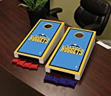 Victory Tailgate Denver Den Nuggets NBA Basketball Desktop Cornhole Game Set Border Version